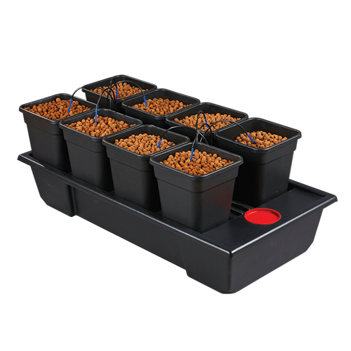 Wilma System Small wide 8 Planter 11L Pot