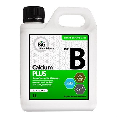Calcium Plus part B BiG Plant Science Gødning