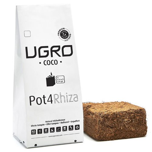 Coco Pot4 Rhiza UGro