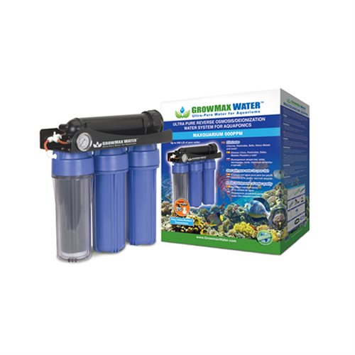 Maxquarium 000 PPM Omvendt Osmose Filter Growmax